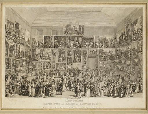 Lauda-Conatum, Exposition au Salon du Louvre en 1787 (Le Blanc 13)