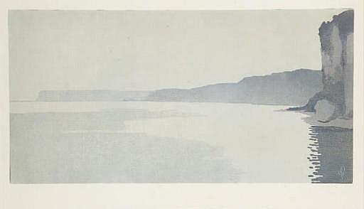 Les Falaises au Clair de Lune, Yport (Curtis 35)