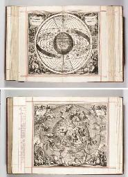 CELLARIUS, Andreas (ca 1596-1665). Harmonia macrocosmica sev atlas universalis et novus, totius universi creati cosmographiam generalem, et novam exhibens. Amsterdam: Jan Jansson, 1661.