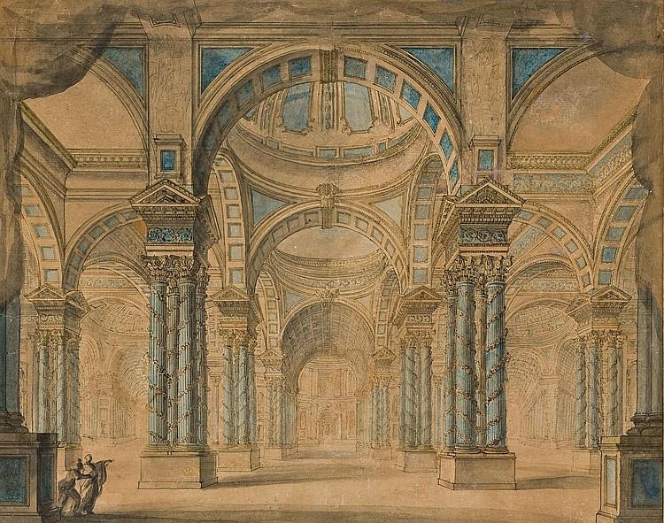 ATTRIBUE A FRANCOIS-JOSEPH BELANGER (PARIS 1744-1818)
