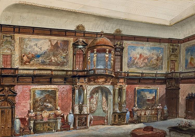 EUGENE LAMI (PARIS 1800-1890)