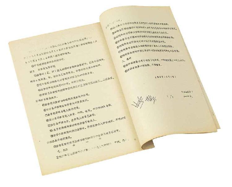 ZHANG PEILI (b.1957)