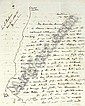 GORDON, Charles G. (1833-1885). Two autograph letter signed (