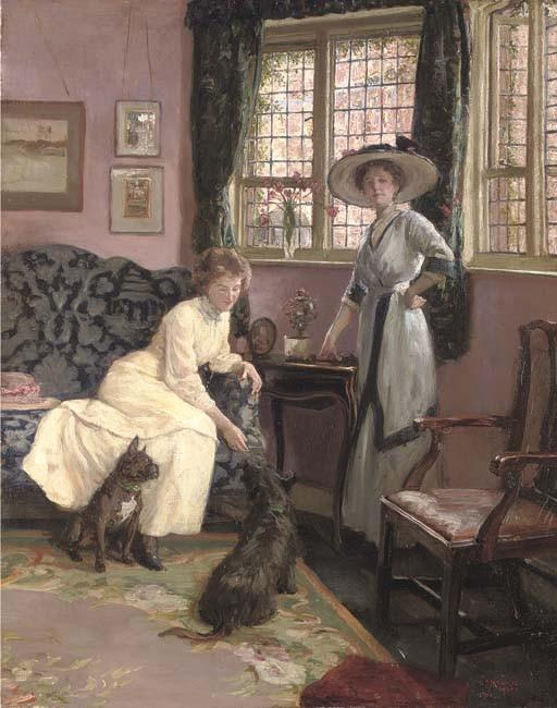 George Percy Jacomb-Hood, M.V.O., R.B.A. (1857-1929)