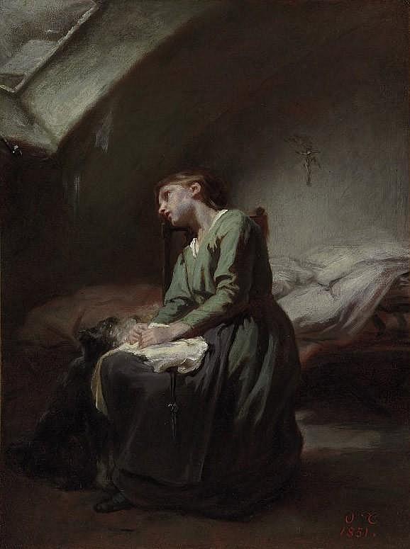 Nicolas François Octave Tassaert (Paris 1800-1874)