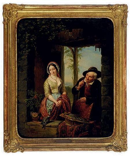 Jean Henri De Coene (FLEMISH, 1798-1866)