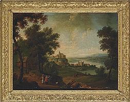 Attributed to Pieter Tillemans (Antwerp 1684-1734 Norton, nr. Bury St. Edmunds)