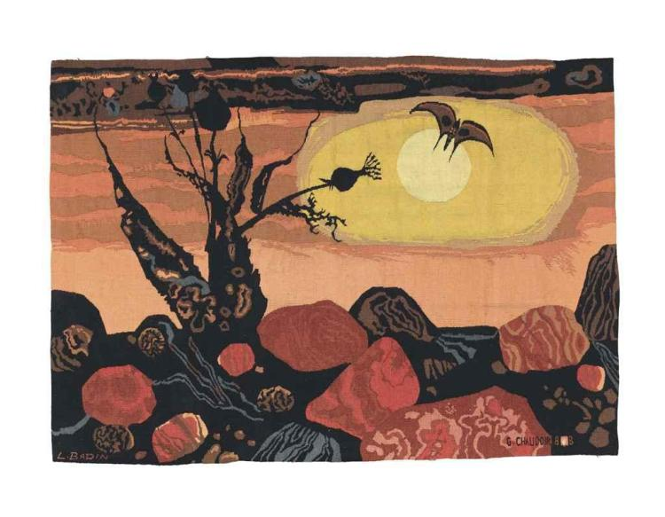 WALL HANGING, SECOND HALF 20TH CENTURY