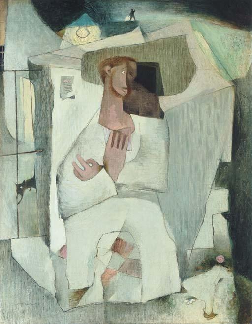 Louis le Brocquy, H.R.H.A. (b. 1916)