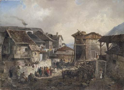 Giulio Gorra (Italia 1832-1884)