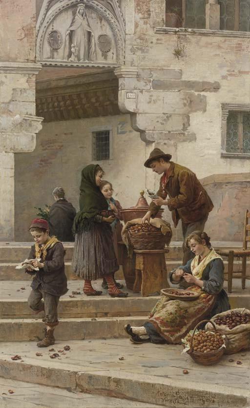 Antonio Paoletti (Italia 1834-1912)