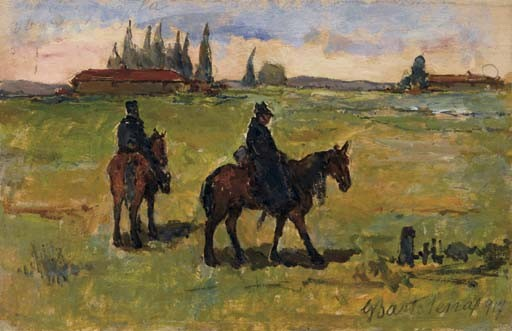 Giovanni Bartolena (Italia 1866-1942)