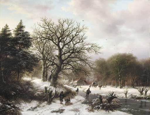 Barend Cornelis Koekkoek (Dutch, 1803-1862)