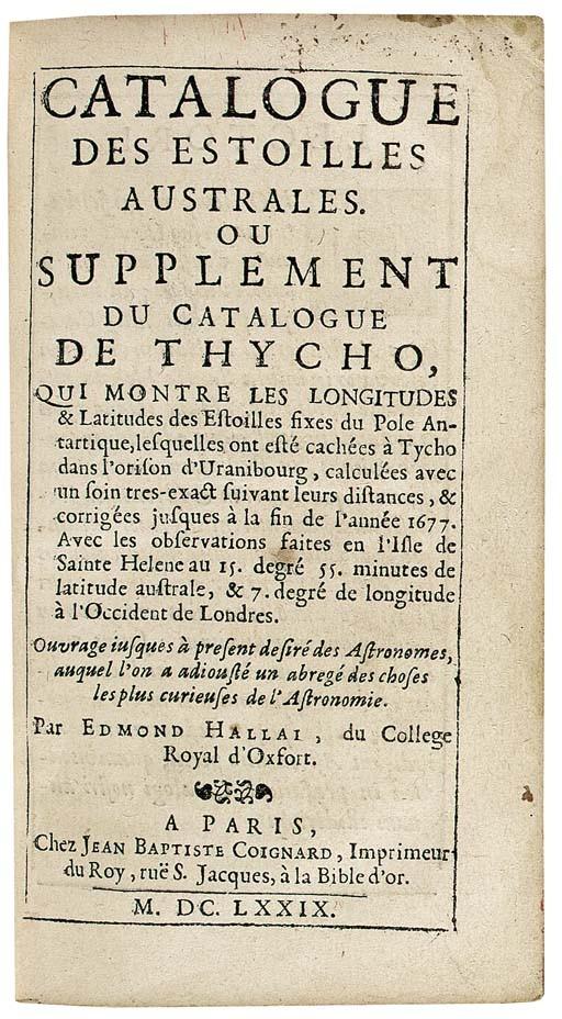 <B>EDMOND HALLEY (1656-1742)</B>