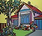 Pink House, Howard Arkley, Click for value