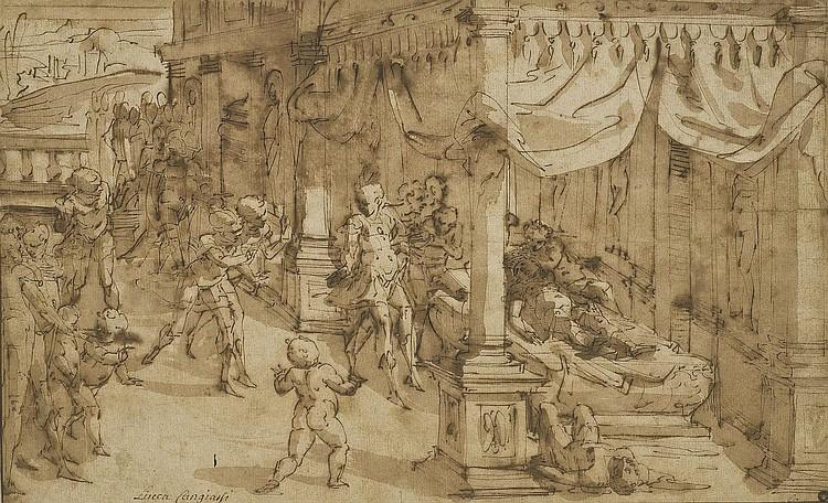 Luca Cambiaso (Moneglia 1527-1585 Madrid)