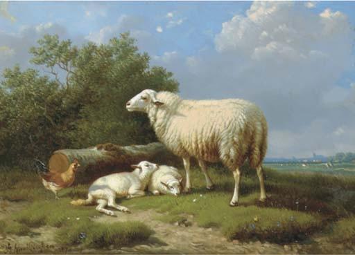 Joseph Van Dieghem (Belgian, 1843-1885)