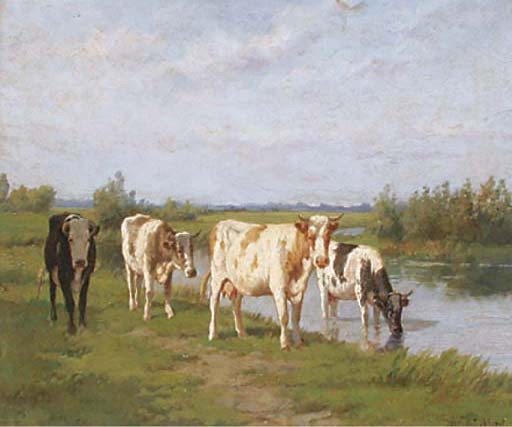 Dirk Peter van Lokhorst (Dutch, 1848-1894)