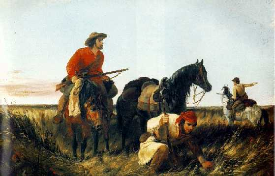 ARTHUR FITZWILLIAM TAIT (1819-1905)Trappers Following the Trail: At