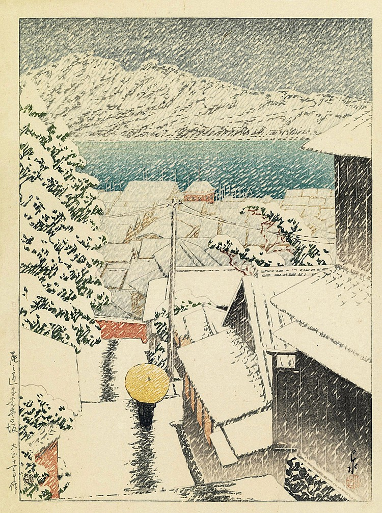 Hasui Kawase Artwork for Sale at Online Auction | Hasui Kawase Biography &  Info