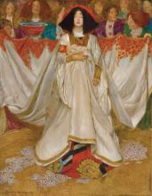 John Byam Liston Shaw (1872-1919) - The Queen of Hearts