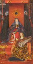 John Byam Liston Shaw (1872-1919) - The Queen of Spades