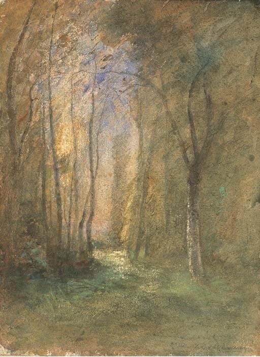 AUGUSTE-FRANCOIS RAVIER (LYON 1814 - 1895 MORESTEL)