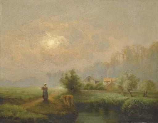 ANTOINE CHINTREUIL (PONT-DE-VAUX 1816 - 1873 SEPTEUIL)