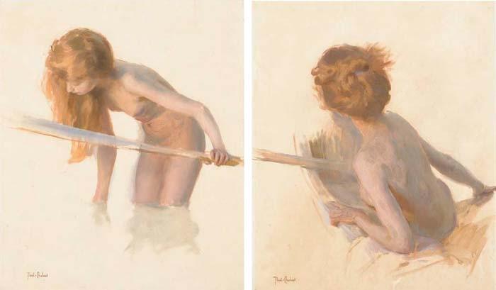 PAUL-EMILE CHABAS (NANTES 1869 - 1937 PARIS)