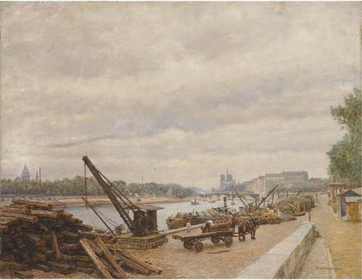 MARIE-FRANCOIS-FIRMIN GIRARD (PONCIN 1838 - 1921 MONTLUCON)