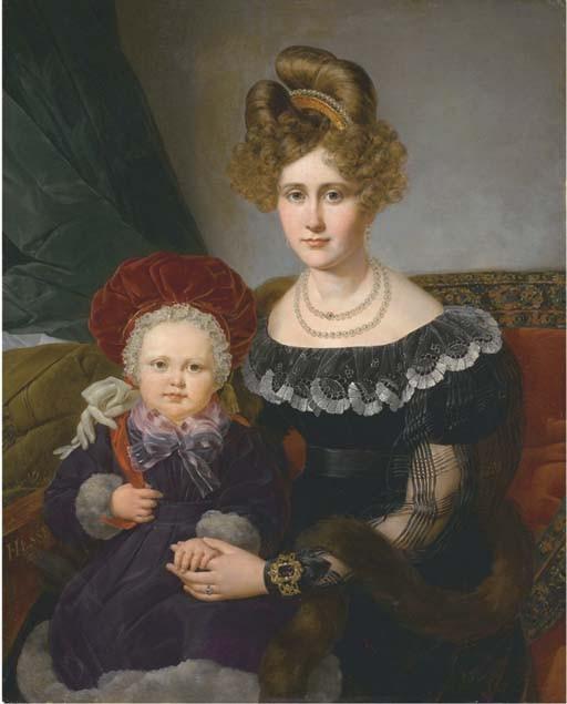 ALEXANDRE JEAN-BAPTISTE HESSE (PARIS 1806-1879)