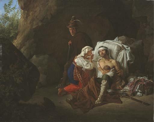 PIETER VAN HANSELAERE (GAND 1786 - 1862)