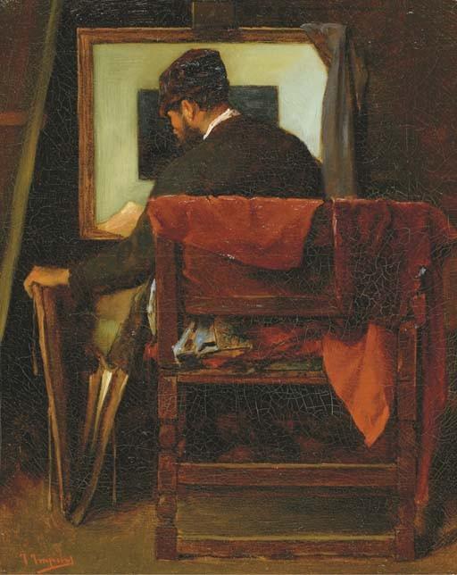 JOSSE IMPENS (BRUXELLES 1840 - 1905)