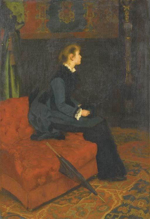 GUSTAVE JACQUET (PARIS 1846 - 1909)