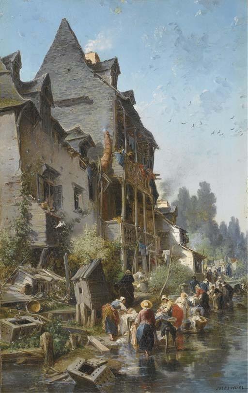 JULES ACHILLE NOEL (QUIMPER 1815 - 1881 ALGER)