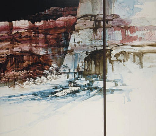 triptych: A Canyon