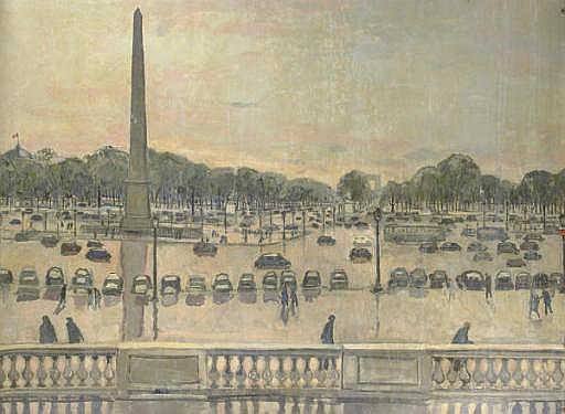 Mural: Place de la Concorde, Paris