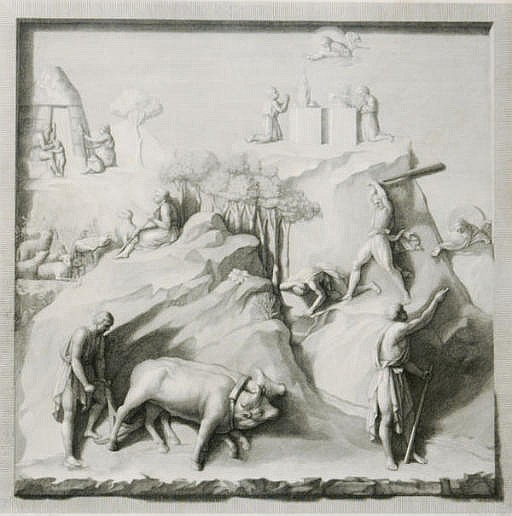 Bassirilievi della Porta Maggiore del Tempio di S. Gio. Battista di Firenze