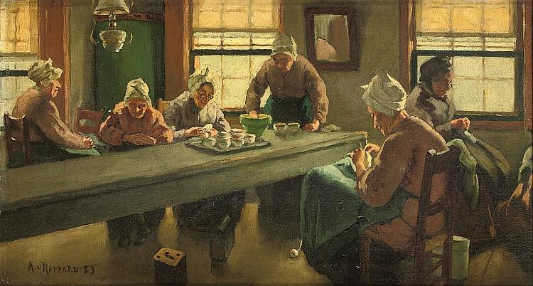 Anton Gerhard Alexander Ridder van Rappard (1858-1892)