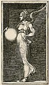 Allegorical Figure holding a Sphere (Bartsch 34), Giorgio Ghisi, Click for value