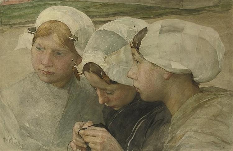 Pieter de Josselin de Jong (Dutch, 1861-1906)
