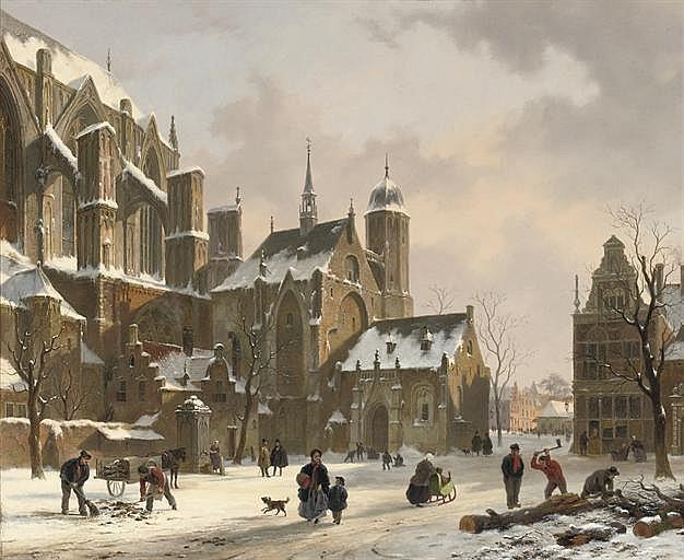Bartholomeus Johannes van Hove (Dutch, 1790-1880)