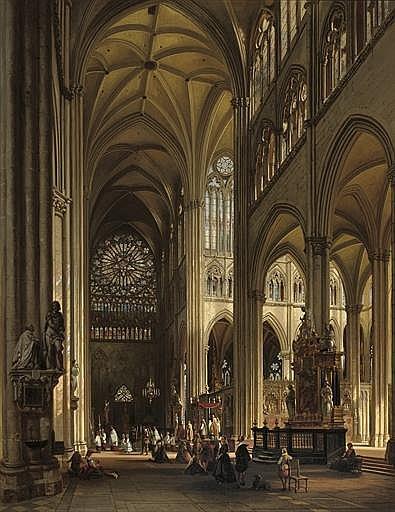 Jules Victor Genisson (Belgian, 1805-1860)