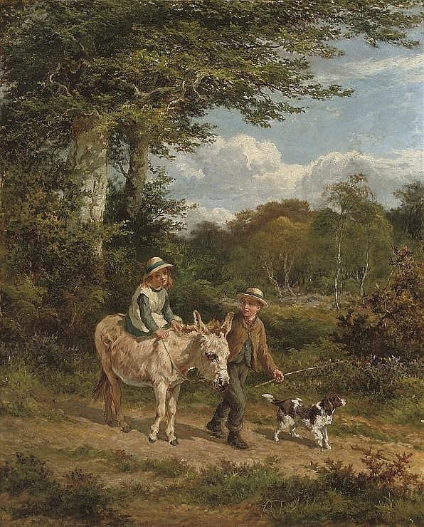 Edward Holmes, R.B.A. (1841-1891)