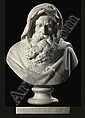 AN ITALIAN WHITE MARBLE BUST EMBLEMATIC OF WINTER, Giovanni Maria Benzoni, Click for value