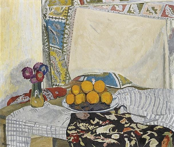 Oranges et tapis