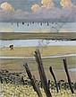 Marée basse à Villerville, 1922 , Felix Vallotton, Click for value