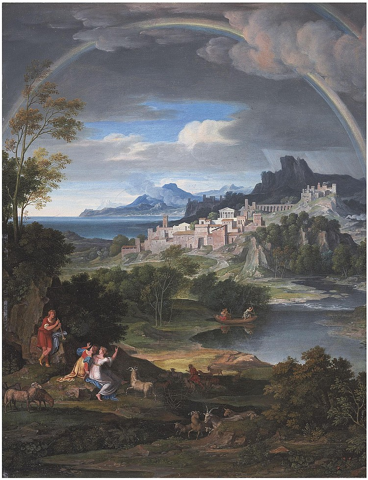 Joseph Anton Koch (Elbigenalp 1768-1839 Rome)