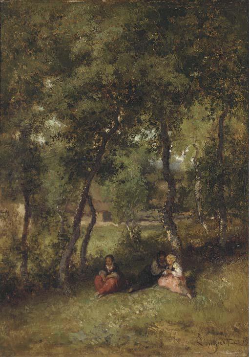 Alexandre-Marie Longuet (French, 1805-1851)