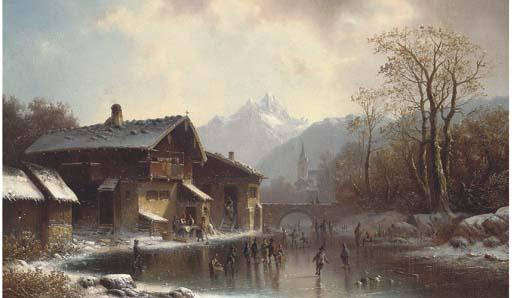 Anton Doll (German, 1826-1887)